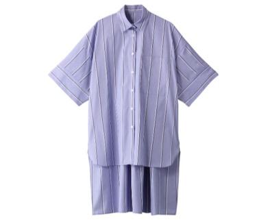 LE PHIL イージーケアブロードロングシャツ