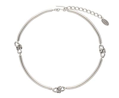 ADER.bijoux POMPEII knot necklace wide