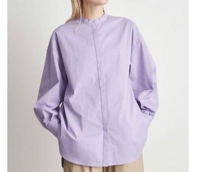 ELENDEEK 2ピーススタンドカラーシャツ