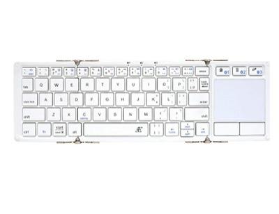 3E(スリーイー) タッチパッド付Bluetooth Keyboard 【Touch+】 3つ折りタイプ
