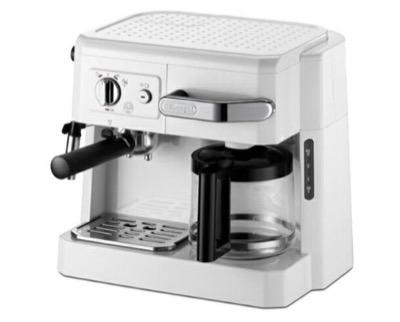DeLonghi(デロンギ) コンビコーヒーメーカー ホワイト BCO410J-W