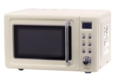 A-stage 単機能レトロ調電子レンジ