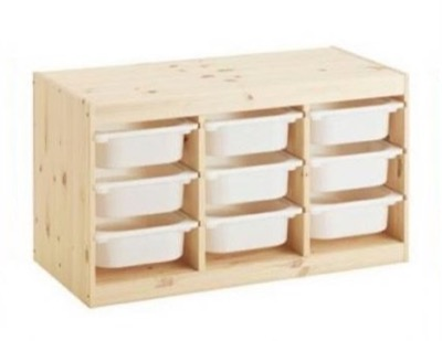 IKEA(イケア) TROFAST トロファスト 収納コンビネーション 収納棚 収納ボックス