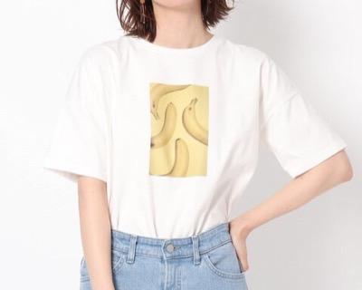 THE SHOP TK フタバフルーツコラボフォトTシャツ
