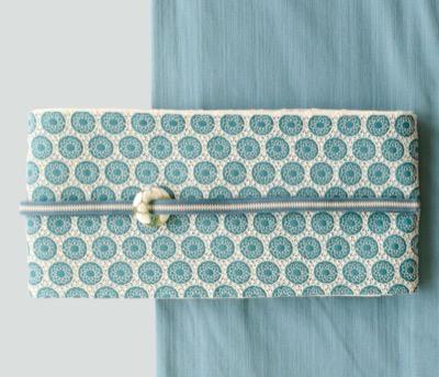 Enomoto 小袋帯 刺繍 オーバルレース