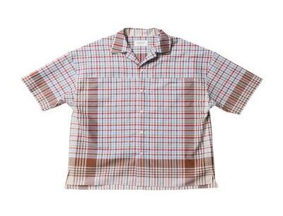 beautiful people kitchen cloth poplin open-necked shirt