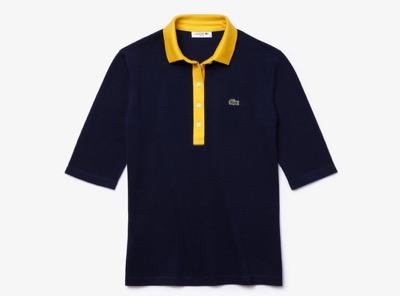 LACOSTE コントラストカラーポロシャツ