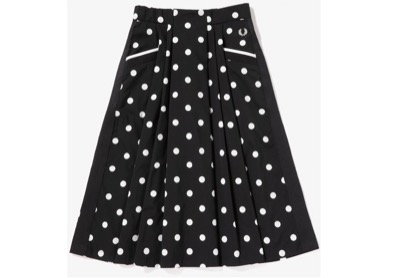 FRED PERRY Dot Skirt
