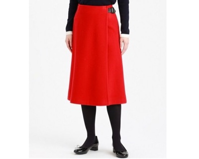 MACKINTOSH PHILOSOPHY ウールラップスカート