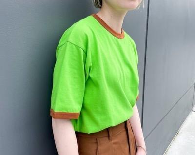 nimiru 配色リンガーTシャツ