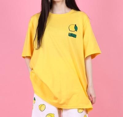 punyus フードサガラ刺繍Tシャツ