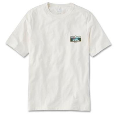 L.L.Bean オーガニックコットングラフィックTシャツ