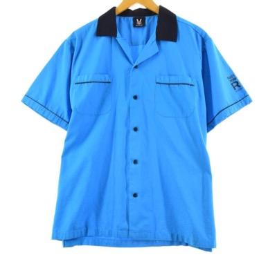 HILTON ボウリングシャツ