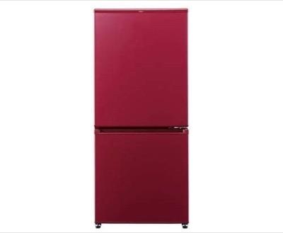 AQUA 2ドアノンフロン冷蔵庫 ルージュAQR-17J-R