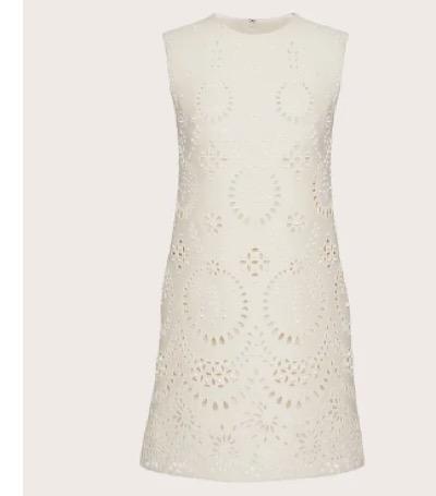 VALENTINO サンガロ エディション クレープクチュール ショートドレス