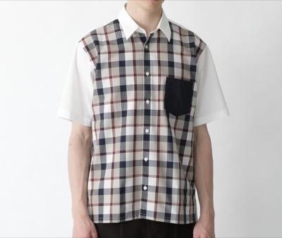 BLACK LABEL CRESTBRIDGE サッカーパネルミニクレストブリッジチェックシャツ