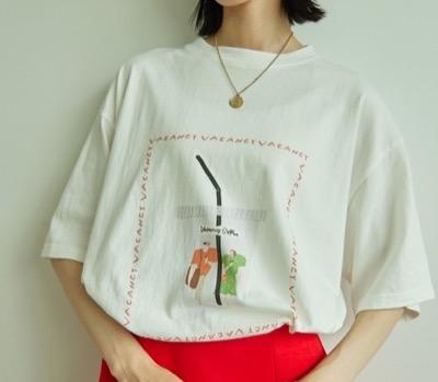VACANCY コラボイラストBIGTシャツ