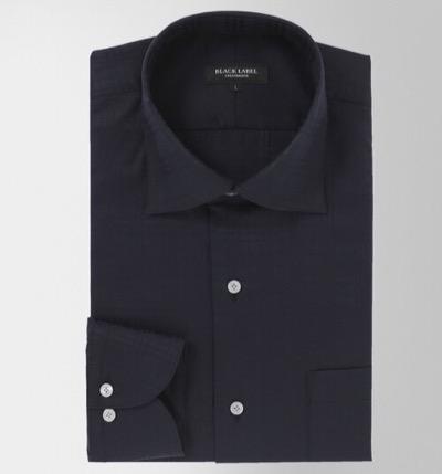 BLACK LABEL CRESTBRIDGE マイクロチェックセミワイドカラーシャツ