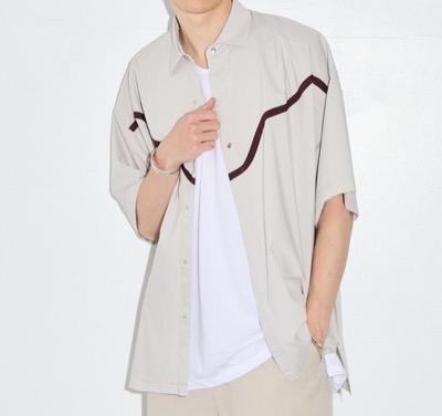 PUBLIC TOKYO ウエスタンデザイン オーバーシャツ