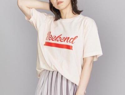 FUNG(ファング)「Week end」ロゴTシャツ