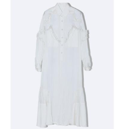 TOGA Cupra stripe dress