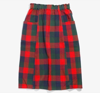 South2 West8 ARMY STRING SKIRT