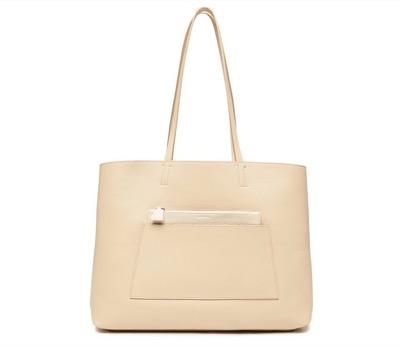 AKRIS Ai Medium Reversible Colorblock Tote Bag
