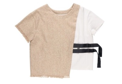 KOH.style リネンライクドッキングTシャツ
