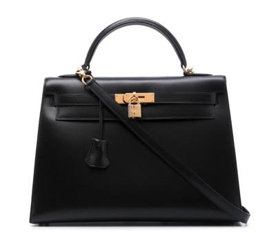 Hermès プレオウンド ケリー 32 セリエ 2way ハンドバッグ