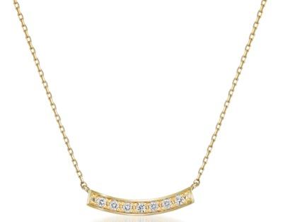 STAR JEWELRY DIAMOND LINE NECKLACE