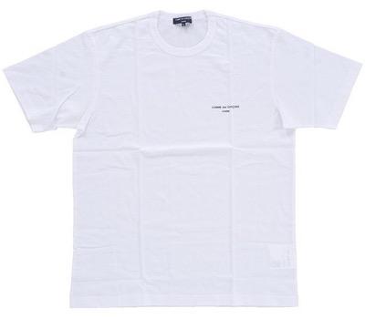 COMME des GARCONS logo Tシャツ
