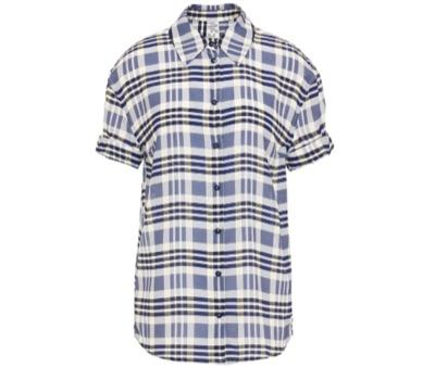 BAUM UND PFERDGARTEN Moanna printed crepe shirt