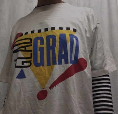 glad grad single stitched T-shirt