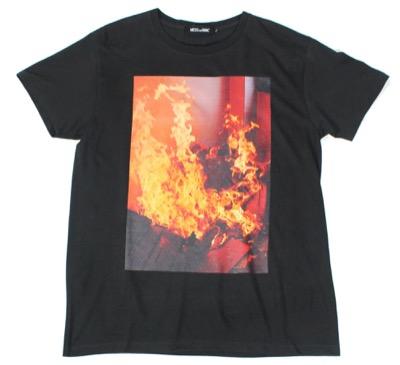 MESS THE MAN FIRE TEE