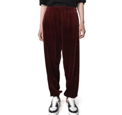 MYne Velour Track Pants