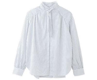 LA MARINE FRANCAISE トラッドレディのボウタイシャツ