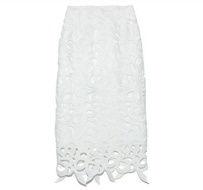 CELFORD リボンレーススカート